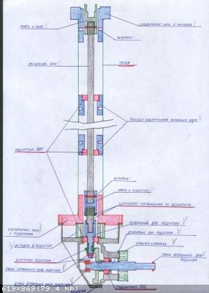 Самодельный лодочный мотор из бензопилы : сборка и монтаж конструкции